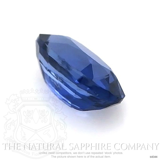 Natural Untreated Blue Sapphire B8344 Image 3