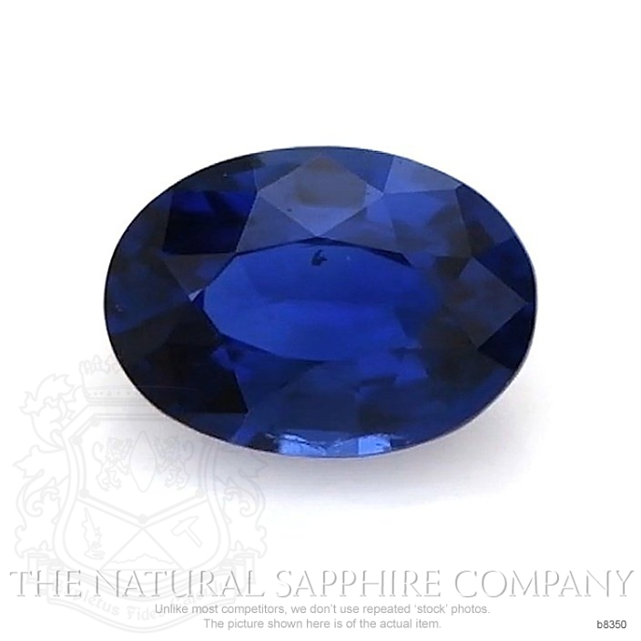 Natural Untreated Blue Sapphire B8350 Image