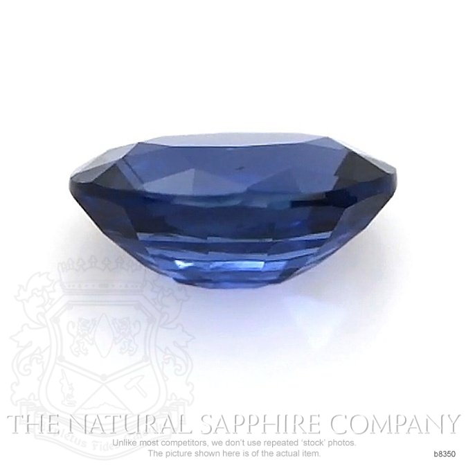 Natural Untreated Blue Sapphire B8350 Image 2