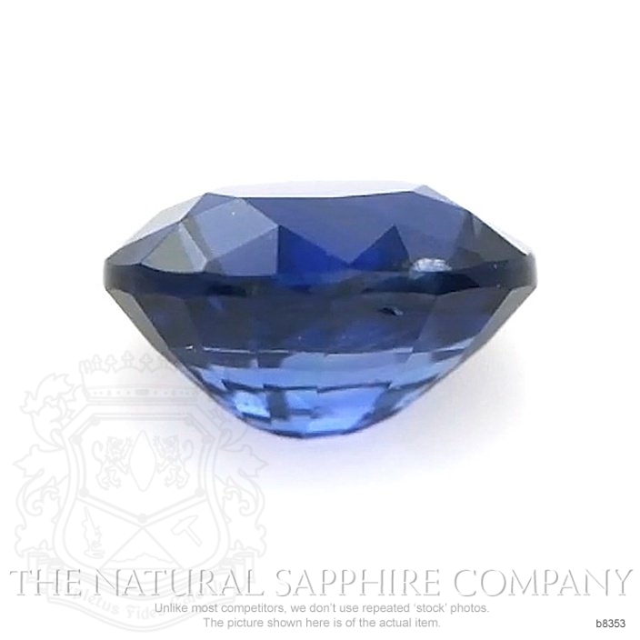 Natural Untreated Blue Sapphire B8353 Image 2