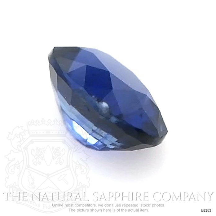 Natural Untreated Blue Sapphire B8353 Image 3