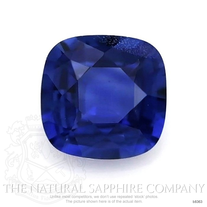 Natural Untreated Blue Sapphire B8363 Image