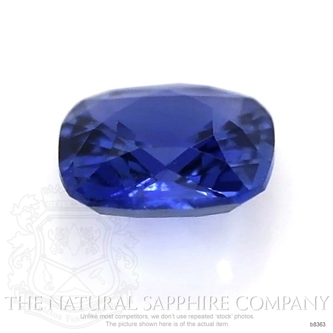 Natural Untreated Blue Sapphire B8363 Image 2