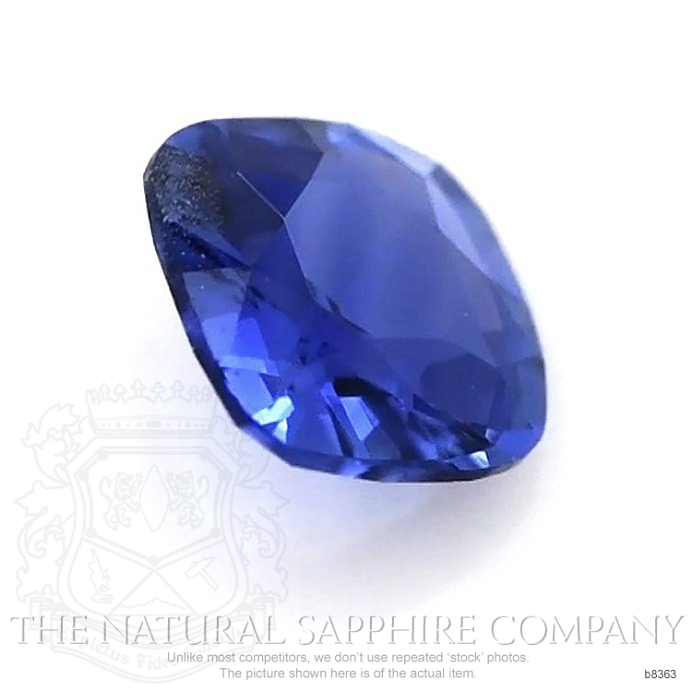 Natural Untreated Blue Sapphire B8363 Image 3
