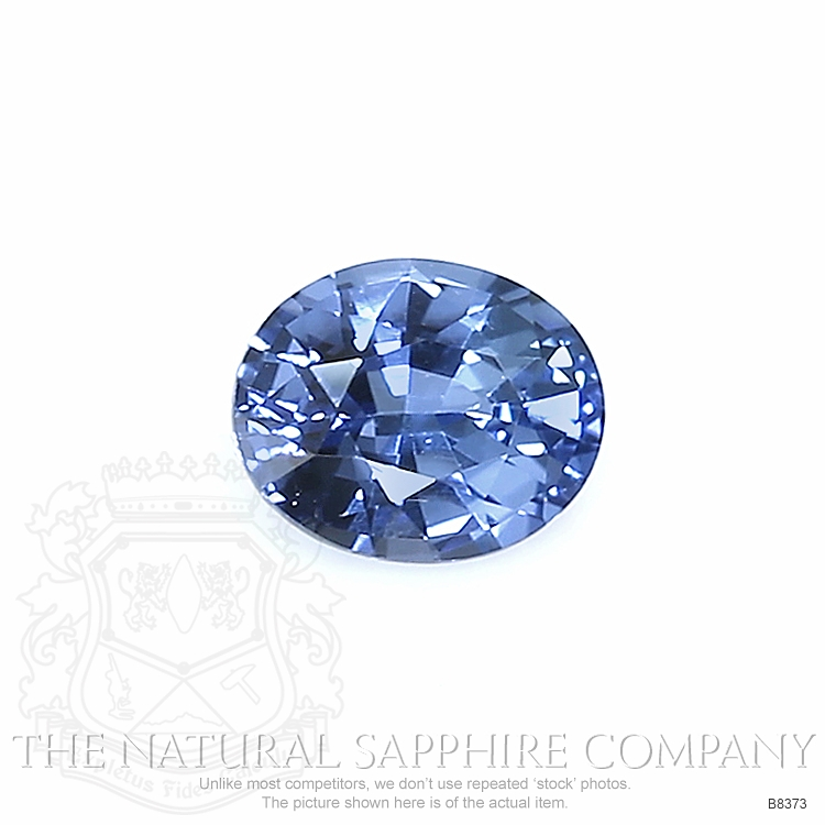 Natural Untreated Blue Sapphire B8373 Image