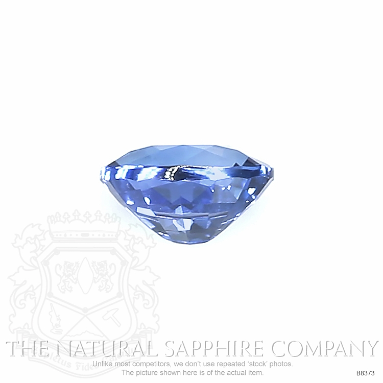 Natural Untreated Blue Sapphire B8373 Image 2