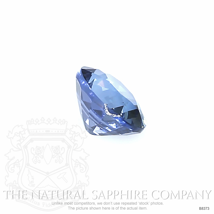Natural Untreated Blue Sapphire B8373 Image 3
