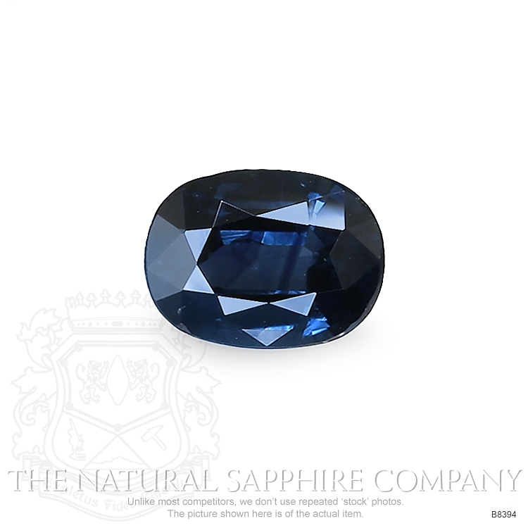 Natural Blue Sapphire B8394 Image