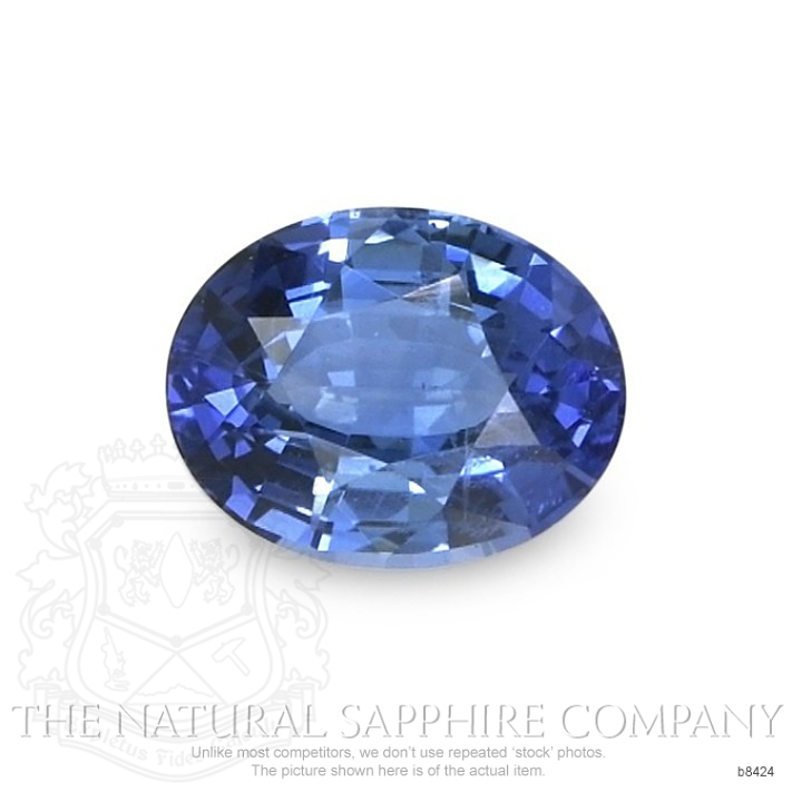 Natural Untreated Blue Sapphire B8424 Image