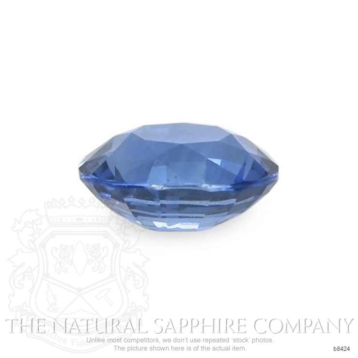Natural Untreated Blue Sapphire B8424 Image 2