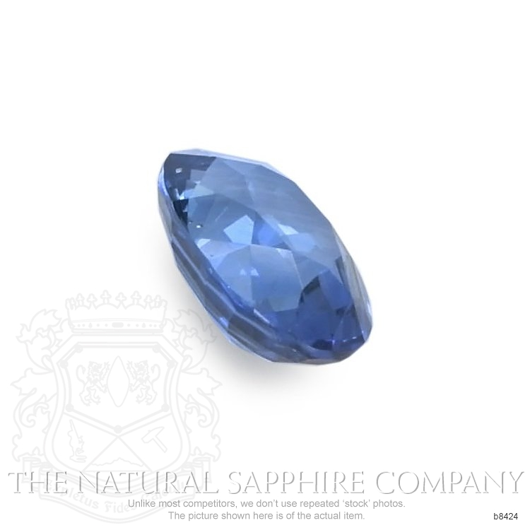Natural Untreated Blue Sapphire B8424 Image 3