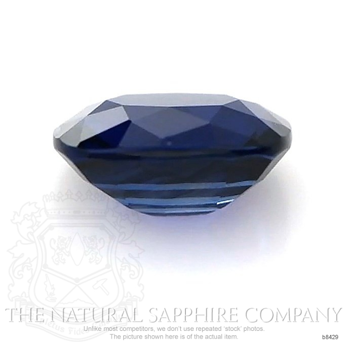 Natural Untreated Blue Sapphire B8429 Image 2