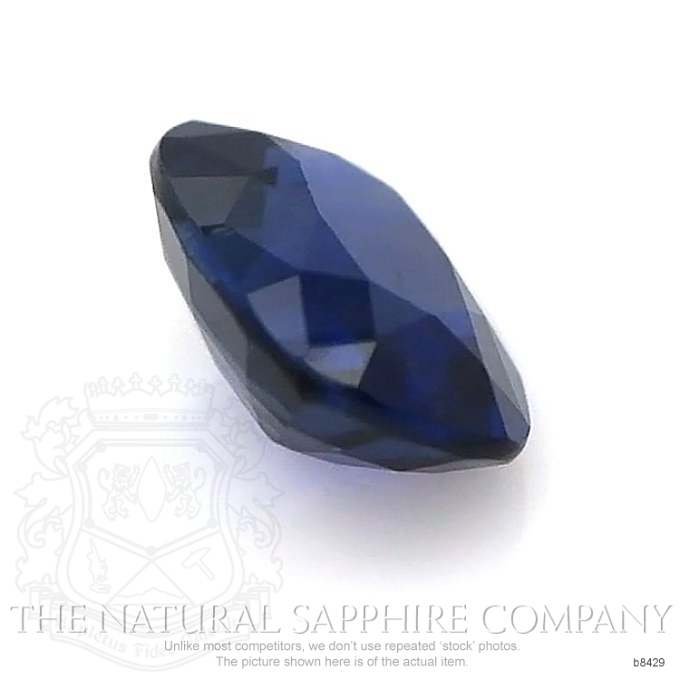 Natural Untreated Blue Sapphire B8429 Image 3