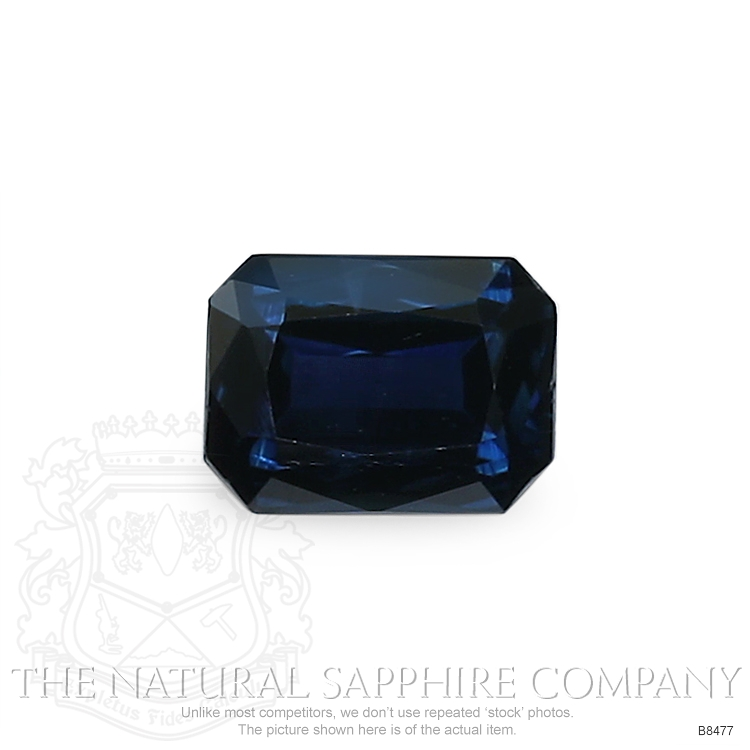 Natural Blue Sapphire B8477 Image