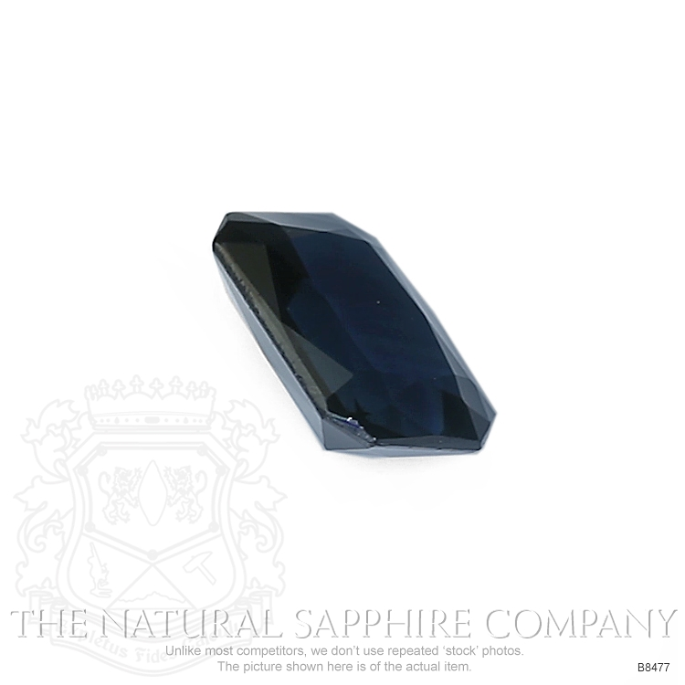 Natural Blue Sapphire B8477 Image 3