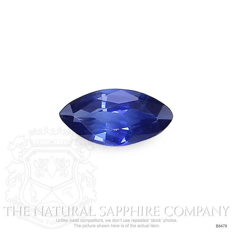 Natural Blue Sapphire B8479 Image