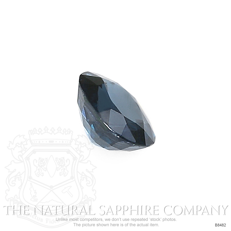 Natural Blue Sapphire B8482 Image 3