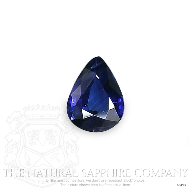 Natural Blue Sapphire B8493 Image