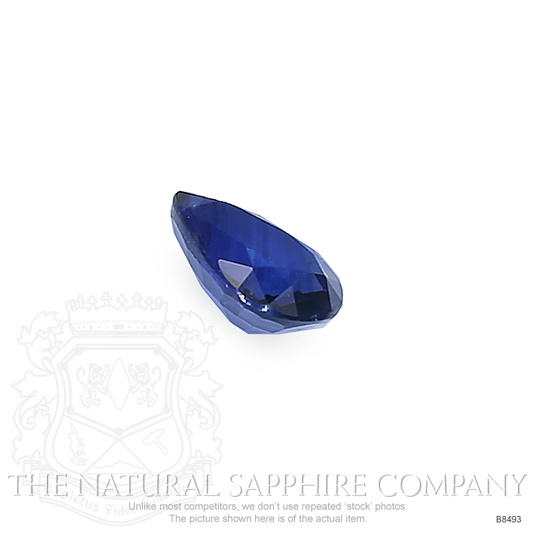 Natural Blue Sapphire B8493 Image 3