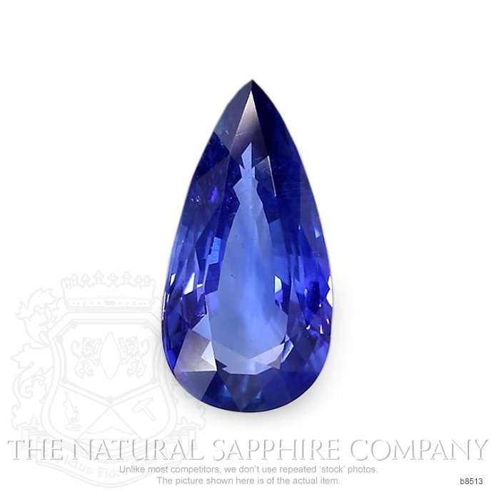 Natural Untreated Blue Sapphire B8513 Image