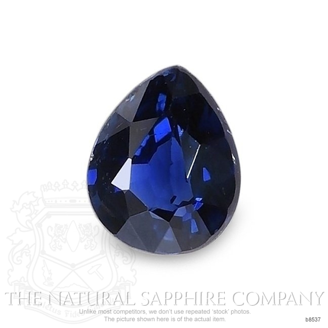 Natural Blue Sapphire B8537 Image