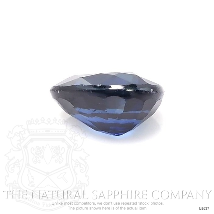 Natural Blue Sapphire B8537 Image 2