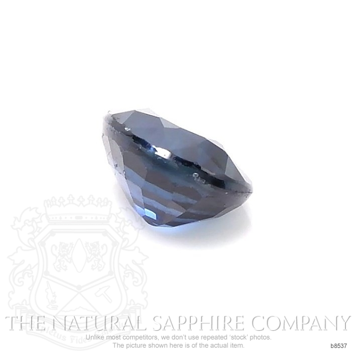 Natural Blue Sapphire B8537 Image 3