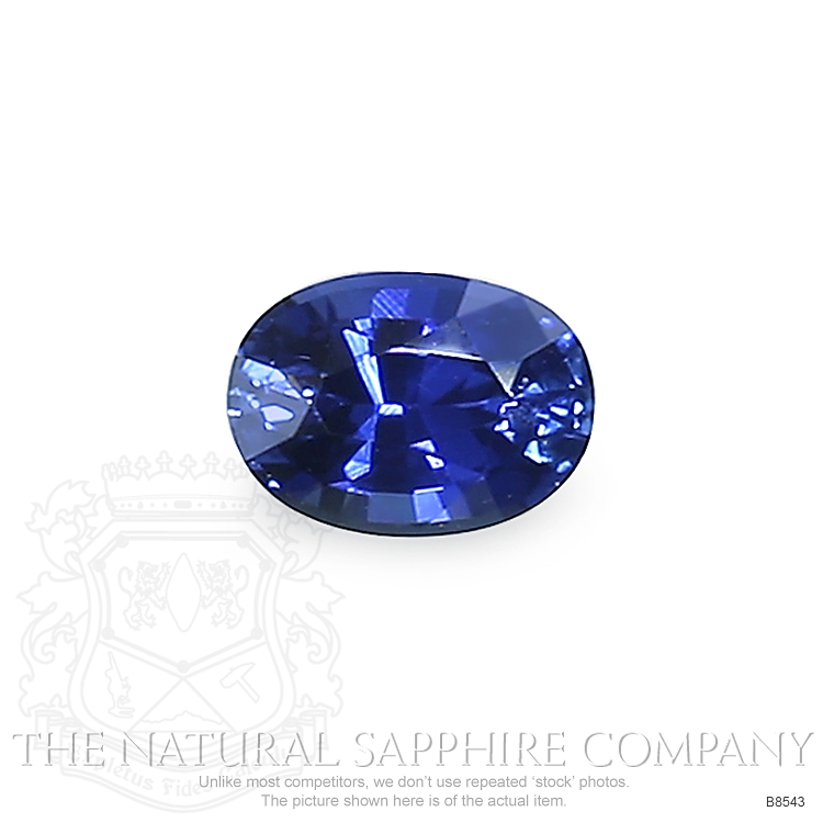 Natural Blue Sapphire B8543 Image
