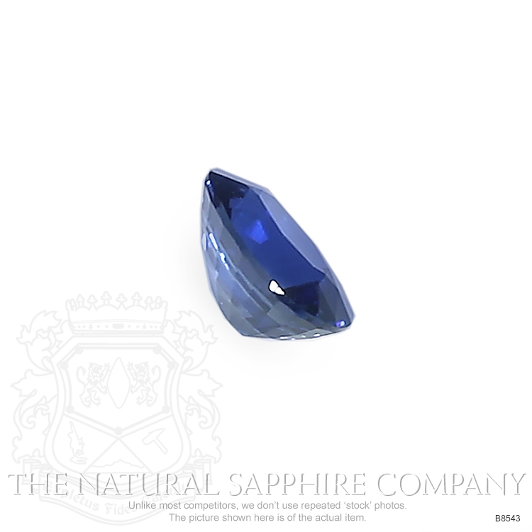 Natural Blue Sapphire B8543 Image 3