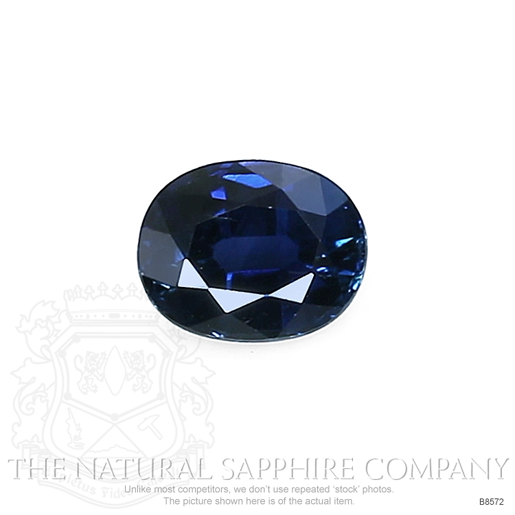 Natural Blue Sapphire B8572 Image