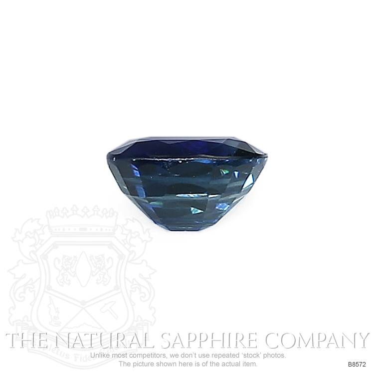 Natural Blue Sapphire B8572 Image 2