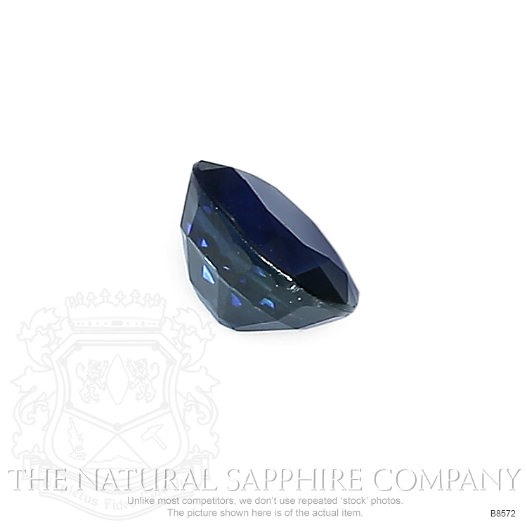 Natural Blue Sapphire B8572 Image 3