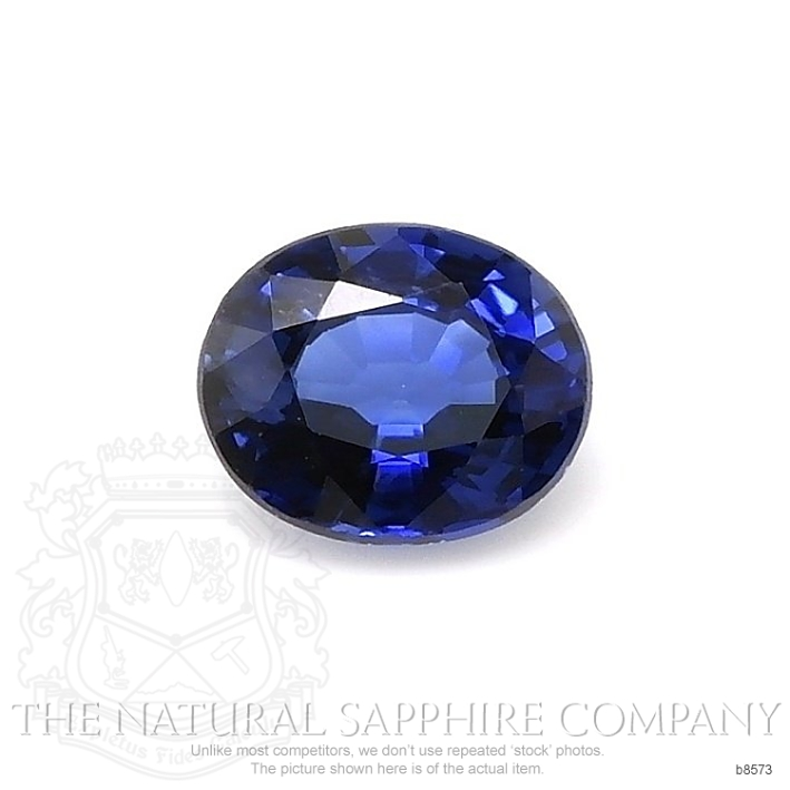 Natural Blue Sapphire B8573 Image