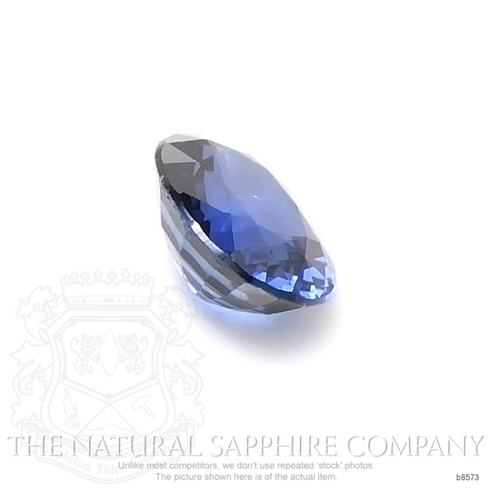 Natural Blue Sapphire B8573 Image 3