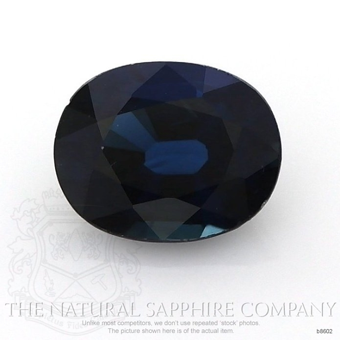 Natural Blue Sapphire B8602 Image