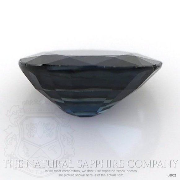 Natural Blue Sapphire B8602 Image 2