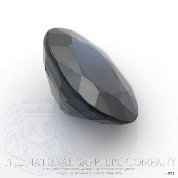 Natural Blue Sapphire B8602 Image 3