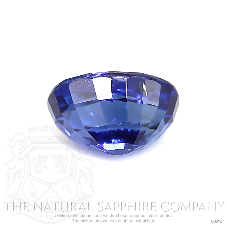 Natural Untreated Blue Sapphire B8612 Image 2