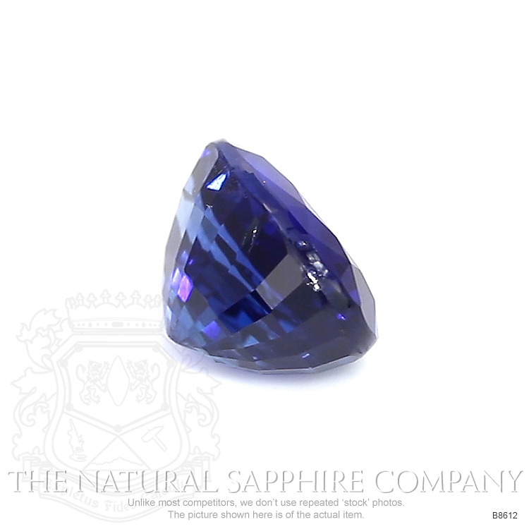 Natural Untreated Blue Sapphire B8612 Image 3