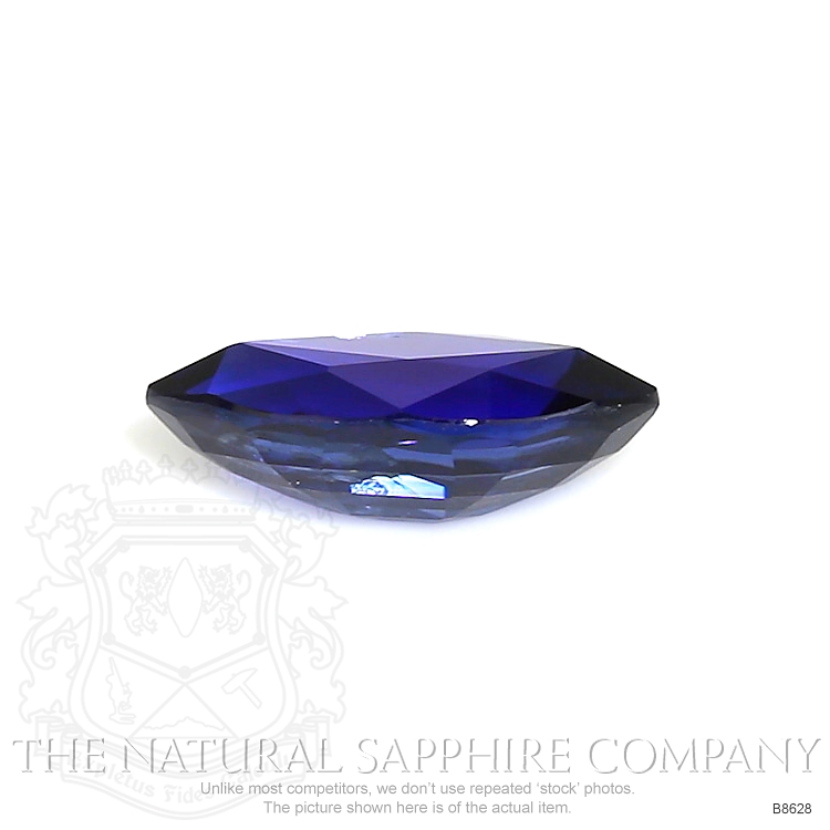 Natural Untreated Blue Sapphire B8628 Image 2