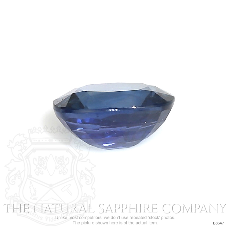 Natural Untreated Blue Sapphire B8647 Image 2