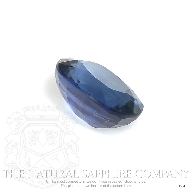 Natural Untreated Blue Sapphire B8647 Image 3