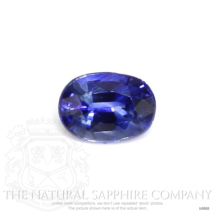 Natural Blue Sapphire B8668 Image