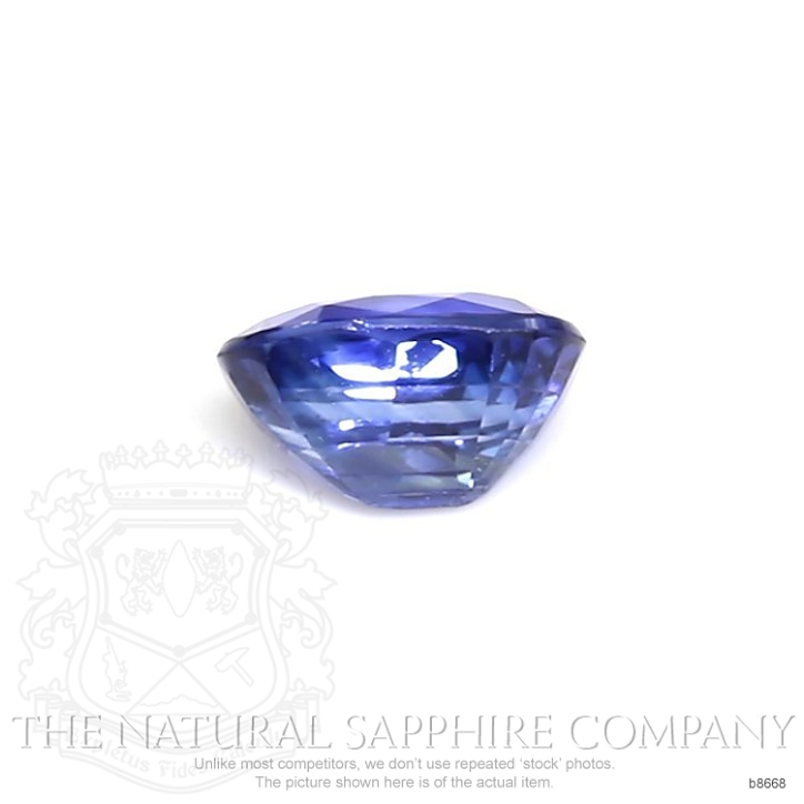 Natural Blue Sapphire B8668 Image 2