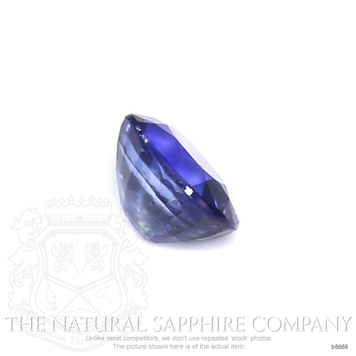 Natural Blue Sapphire B8668 Image 3