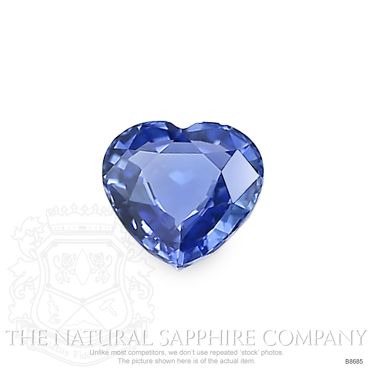 Natural Untreated Blue Sapphire B8685 Image