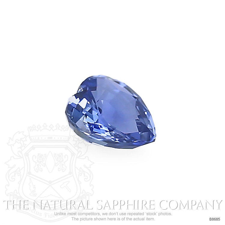 Natural Untreated Blue Sapphire B8685 Image 3