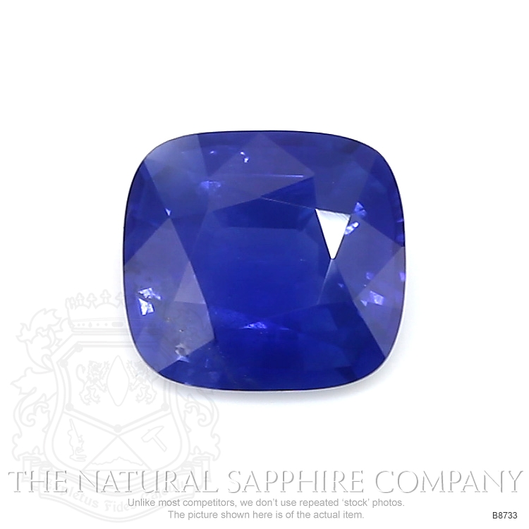 Natural Blue Sapphire B8733 Image