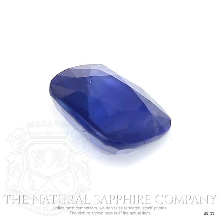 Natural Blue Sapphire B8733 Image 3