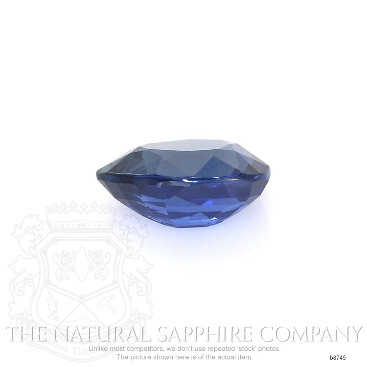 Natural Untreated Blue Sapphire B8745 Image 2